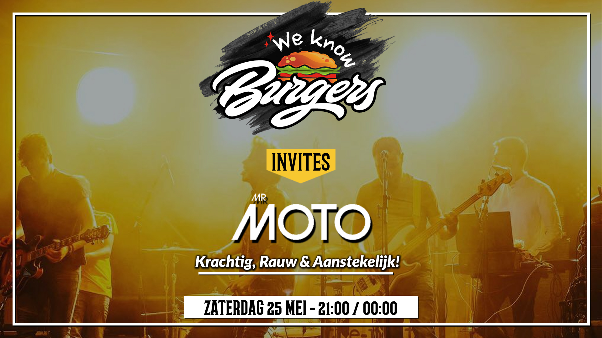 Mr moto live we know burgers