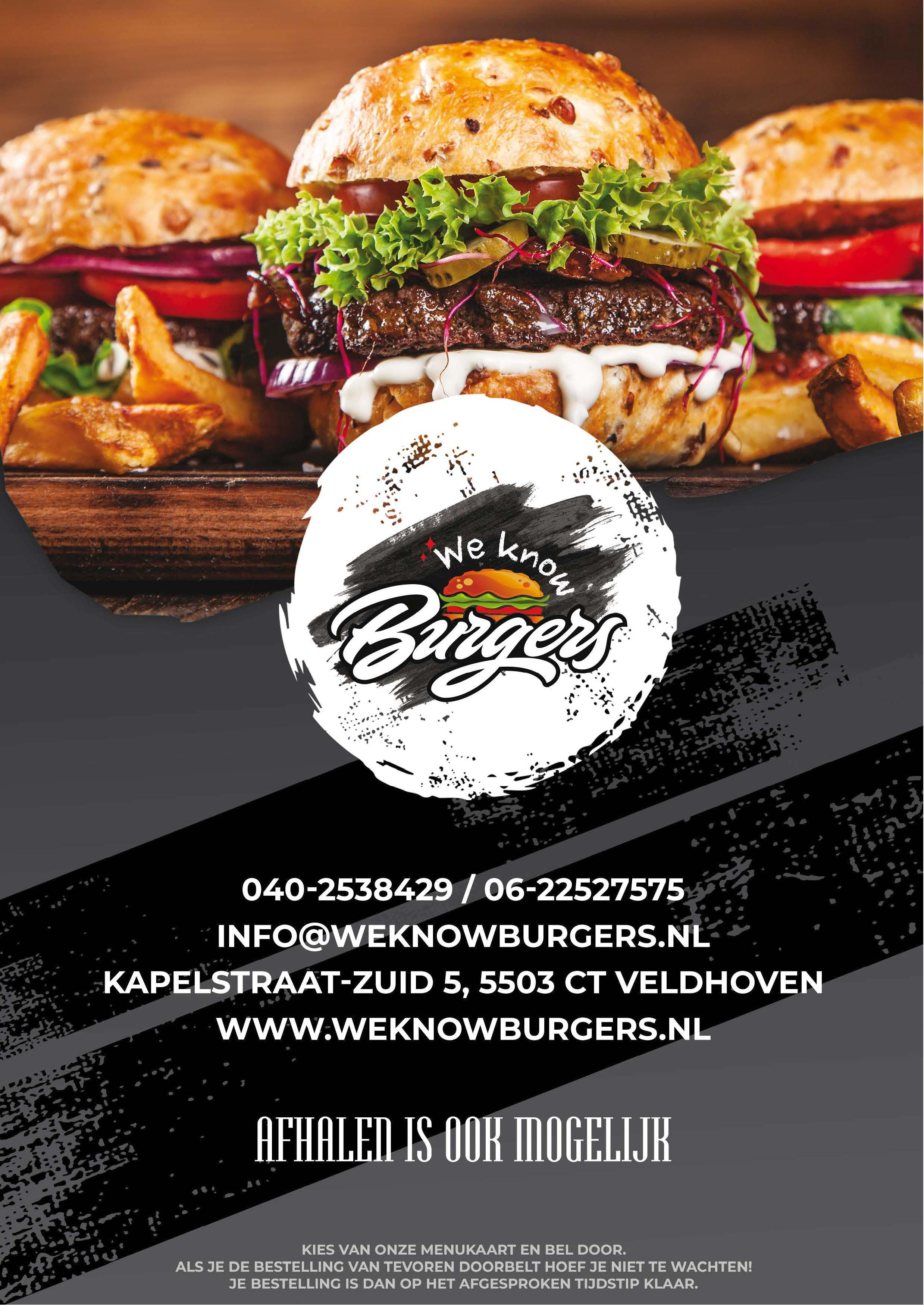 menukaart weknowburgers